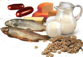 Value Of Foods High In Calcium And Vitamin D