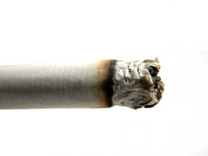 Lung cancer patients who quit smoking