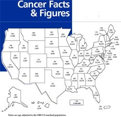 Cancer death rate decline doubling
