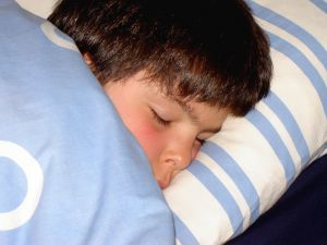 Children having trouble falling asleep more than maintaining