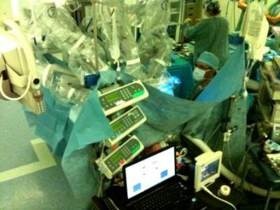 World's first completely robotic surgery
