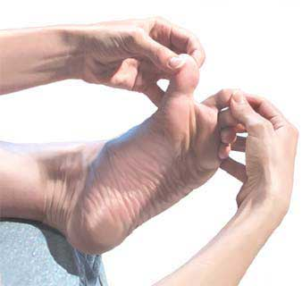 Diabetics risk serious foot problems
