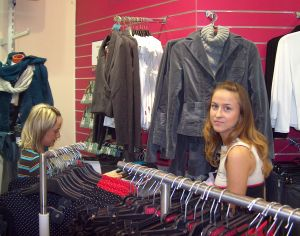 Teenagers with retail, service jobs