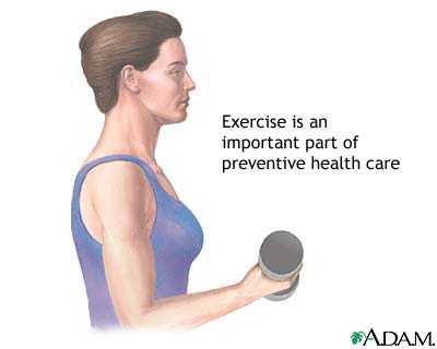 Benefit of exercise in cardiovascular disease