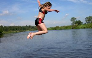 More Swimmers Means More Pathogens in the Water