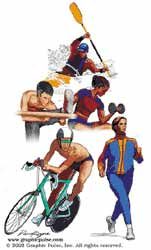 Promoting physical exercise in adults