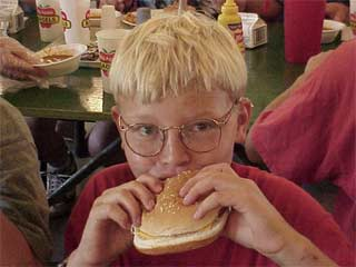 Kids now see more ads for fast food