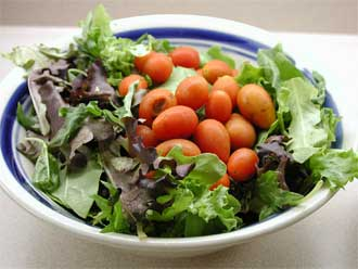 Salads With Some Fat Are Healthier