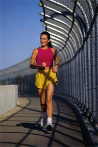 Regular aerobic exercise reduces health concerns