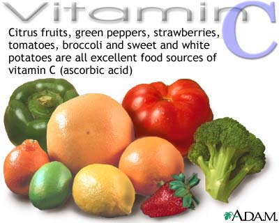 Role of vitamin C in skin protection