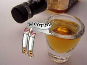 Alcoholism And Chronic Smoking Can Damage Brain