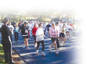 Run For Lung Cancer: A Rare Event?